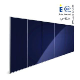 15㎡ large scale solar heating plant collector