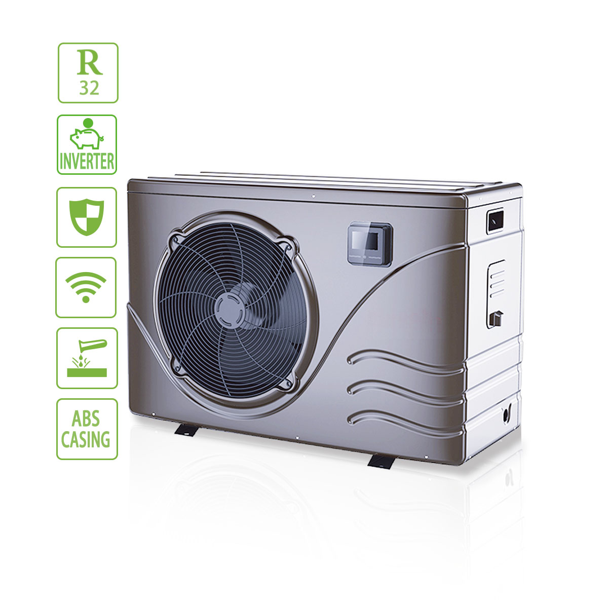 High Efficiency Residential Inverter Swimming Pool Heat Pump