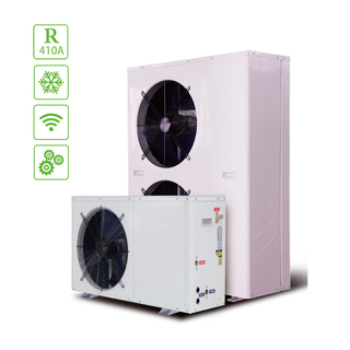 Split with Electric Heat Pump for Family Sanitary Hot Water